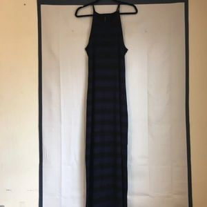 Knotsisters Maxi Dress Blue/Black Size S